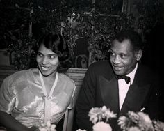 Marian Anderson, Paul Robeson December 30, 1945 New York, New York