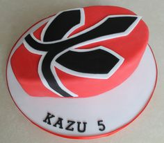 Red Power Ranger Cake