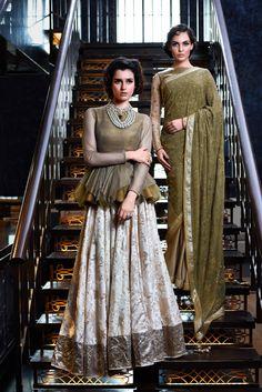 Vikram Phadnis' gorgeous ensemble.