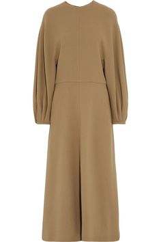 EMILIA WICKSTEAD Cora wool-crepe midi dress - AVAILABLE HERE: http://rstyle.me/n/cpcmrpbcukx