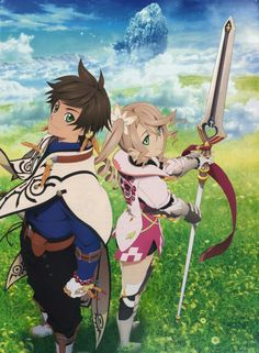 Tales of Zesteria- Slay and Alicia