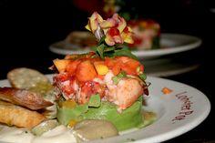 Lobster Avocado Cocktail. Delicious!