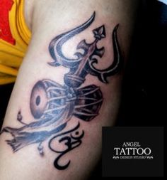 Tattoos done by Angel Tattoo Design Studio in Gurgaon Tattoo Centers, permanent tattoo making under safe-hygiene environment Angel Tattoo Designs, Best Tattoo Designs, Tribal Tattoos, Girl Tattoos, Trishul Tattoo Designs, Permanent Tattoo, Tattoos Gallery, Lord Shiva, More