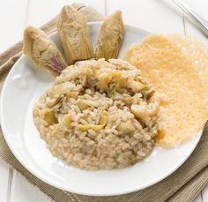 Risotto cu anghinare si branza gorgonzola - www.Foodstory.ro