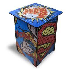 Banco Mesa Bipo SuperMan DC Pop
