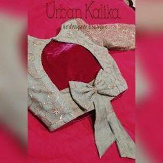 Urban Kalika on Inst Indian Blouse Designs, Stylish Blouse Design, Fancy Blouse Designs, Designs For Dresses, Bridal Blouse Designs, Sari Design, Choli Blouse Design, Saree Blouse Neck Designs, Coimbatore