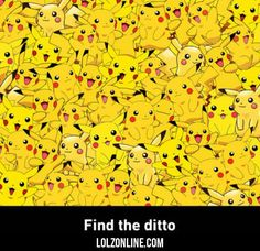 Find The Ditto... #haha #funny in the middle