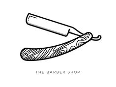 Dribbble - Razor by ♜ Monsieur Didi ♜ Barber Tattoo, Barber Logo, Barber Shop, Mini Tattoos, Body Art Tattoos, New Tattoos, Sleeve Tattoos, Easy Drawings, Tattoo Drawings