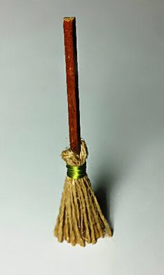 Miniature Brooms Fairy Garden Cottage Doll House Accessories Collectibles Small Scale Figurines Furniture Decorations Pretend Play Toys by sparklingmoon on Etsy https://www.etsy.com/listing/189505142/miniature-brooms-fairy-garden-cottage