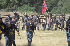 Fort Tejon  Civil War reenactment