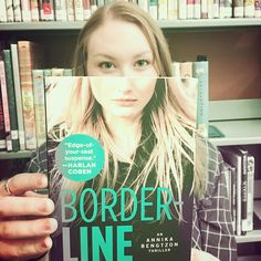 Borderline by Liza Marklund for #bookfacefriday. #syosset #library #bookface #bookcovers #librariesofinstagram #bookstagram #lizamarklund #borderline #libraryfun #syossetbookface @evaelisabethmarklund @atriabooks #annikabengtzon #books #reading #fiction #libraryfun