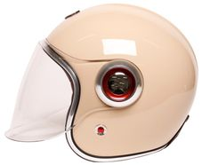 I agree with Adam Savage - this is a sexy helmet! I don't know if pink is my color, though.