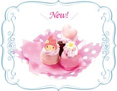 My Melody 40th Anniversary Fair OMOIYARI TO YOU - NEW! My Melody of bread cake pop (set of 3) 500 yen (tax included)