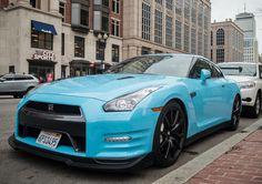 Baby Blue GT-R