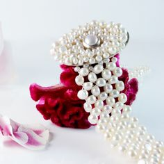 Pearl Choker with Oval Centerpiece from Coleman Douglas Pearls