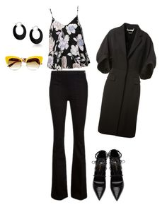 """""""Untitled #2"""" by diana-oni on Polyvore featuring Frame Denim, Yves Saint Laurent, Ally Fashion, Dolce&Gabbana, Bling Jewelry and Givenchy"""