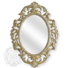 Зеркало овальное ажурное Migliore