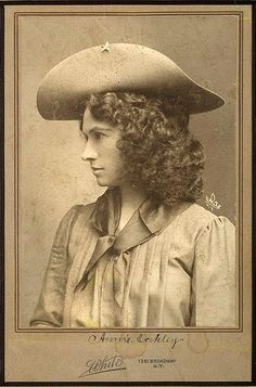Annie Oakley . . . what a great photo of her!