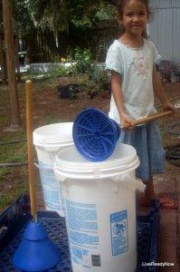 Mobile Washer (Hand Operated Washing Machine)