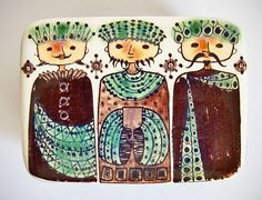 Retro Pottery Net: Beth Breyen - Royal Copenhagen - 3 Wise Men