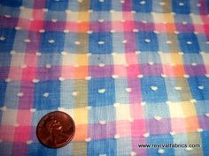 vintage dotted swiss fabric | Flickr - Photo Sharing!