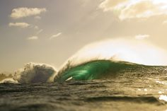 Check out these photos from an unexpected swell lighting up the North Shore. #surfer #surferphotos