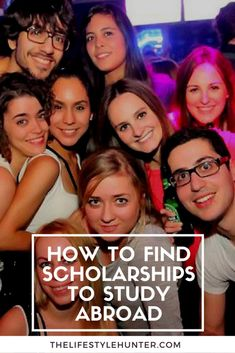 How to find scholarships to study abroad - College Scholarships How To Find Scholarships, Scholarships For College Students, Undergraduate Scholarships, College Hacks, College Life, Education College, Clara Berry, University Tips, Study Tips