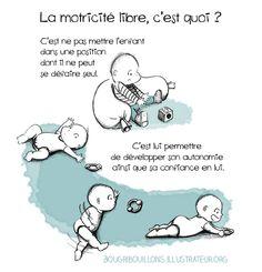 La motricité libre par Bougribouillons.