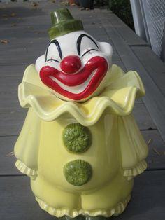 Metlox Clown Cookie Jar
