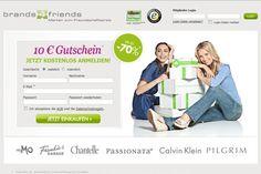 http://meine-outlets.de empfiehlt brands4friends.de - in mengenlimitierten Verkaufs-Aktionen werden Originalprodukte von großen Mode- und Designerlabels aus dem Bereich Life-Style und Fashion bis zu 70% unter Ladenpreis angeboten.