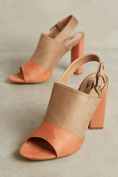 d6208f653a4d Vanessa Wu Suede Slingback Heels Slingback Shoes