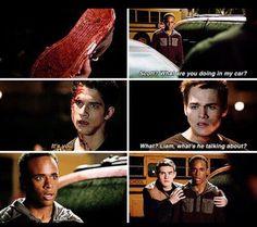 Teen Wolf #5x18 • The Maid of Gévaudan • Mason • Corey • Liam • Scott