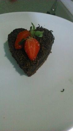 Chocolate heart.....