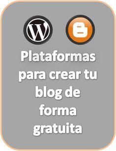 Plataformas para crear tu blog de forma gratuita