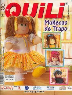 REVISTAS DE MANUALIDADES PARA DESCARGAR GRATIS: Revista Muñecas de trapo