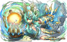 Monster Strike, Comic Games, Decorative Bowls, Character Design, Dragon, Animation, Illustration, Anime, Cards