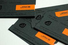 JAKE Construction business cards   por SupremeDevice