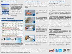 Instrucciones de aplicación para el sellador #Hydrosteel 9900