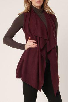 Sierra Sweater Vest  love this!