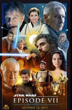 Star Wars Episode 7 Turns out they are using the old characters in the new movie! Going to be really cool!