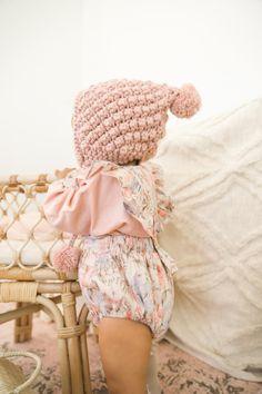 Confetti Knit Jumper Pant Peach Sorbet Cupid Beanie Dusty Pink Dusty Pink, Blush Pink, Jumper Pants, Peach Sorbet, Baby Girl Accessories, Cupid, Little Girls, Kids Fashion, Beanie