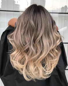 What is the Difference Between Balayage and Ombre?- What is the Difference Between Balayage and Ombre? Ombre Hair Color Ideas for 2018 – The Right HairStyles - Brown Ombre Hair, Ombre Hair Color, Hair Color Balayage, Cool Hair Color, Balayage Bob, Hair Colors, Dark Blonde Ombre Hair, Beige Blonde Balayage, What Is Balayage