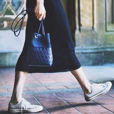 REECE HUDSON SATCHEL #emmetrend #fashionblogger #reecehudson #resort2015 #satchel #ibagyou #fashion #streetstyle #streetchic #converse #allstar #longuette #trend #inspiration #love #this #outfit #moda