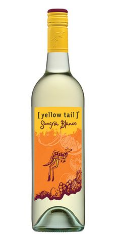 Yellow Tail Sangria Blanco: This combination of white wine, sweet citrus and peach boasts aromas of peach and tropical mango. Flavors of pineapple, peach and fresh lime fill the palate with a clean, light and delightfully refreshing finish. Enjoy on its own, over ice or with fresh fruit. - Winemaker's Notes