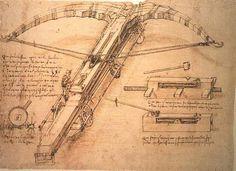 The Atomic Crossbow of Leonardo da Vinci