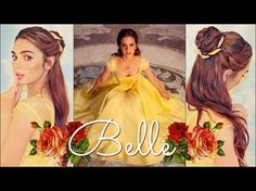 Modern Day Belle (Beauty & The Beast) By SweetHearts Hair Design - YouTube