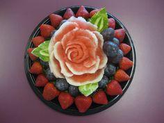 647-271-7971 Fruit Platters, Party Platters, Edible Flowers, Acai Bowl, Bouquets, Breakfast, Food, Fruit Trays, Acai Berry Bowl