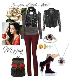 """""""Daughter of Mother Gothel"""" by yunalesca-cecilia-sakura on Polyvore featuring art"""