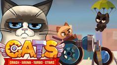 😺 C.A.T.S. Crash Arena Turbo Stars 😺 #04 : CHEST OPENING + LASER E LEVA