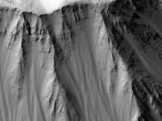 Layered Walls of Tithonium Chasma